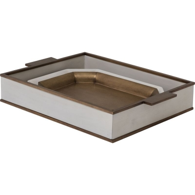 Hickory Chair Le Blanc Nesting Trays