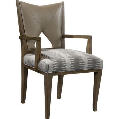 Hickory Chair Wick Arm Chair