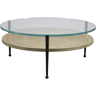 Hickory Chair Auden Round Cocktail Table