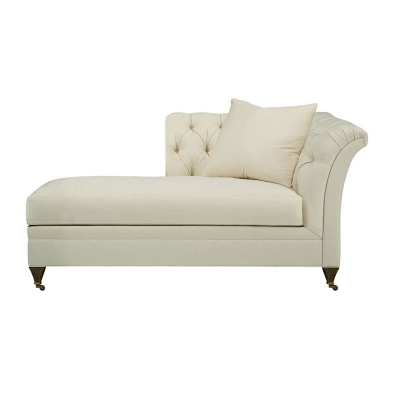 Hickory Chair Left Arm Facing Chaise