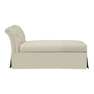 Hickory Chair Tufted Dressmaker Armless Chaise