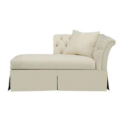 Hickory Chair 706 47 Hartwood Marquette Tufted Dressmaker Left Arm Facing Chaise Discount
