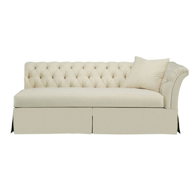Hickory Chair Tufted Dressmaker Right Arm Facing Sofa
