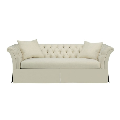 Hickory Chair Tufted Dressmaker Left Arm Facing Corner Sofa