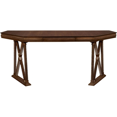 Hickory Chair 791 70 Hartwood Otto Console Desk Discount Furniture At Hickory