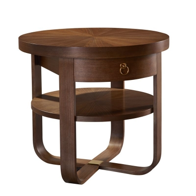 Hickory Chair Beatrice Side Table