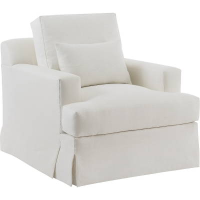 Hickory Chair Jacques Swivel Lounge Chair