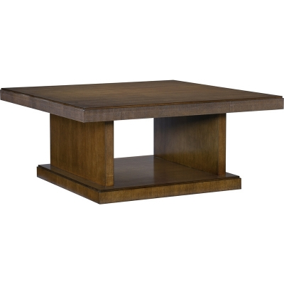 Hickory Chair Chase Reeded Square Cocktail Table