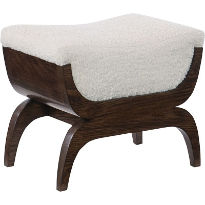 Hickory Chair Flynn Stool