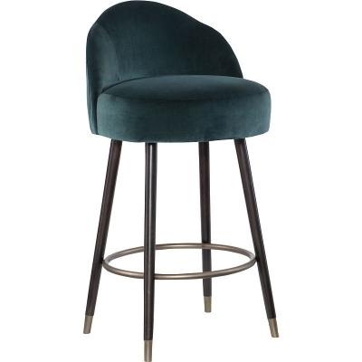 Hickory Chair Helga Swivel Bar Stool