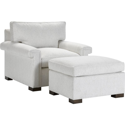Hickory Chair 5th Avenue Ottoman