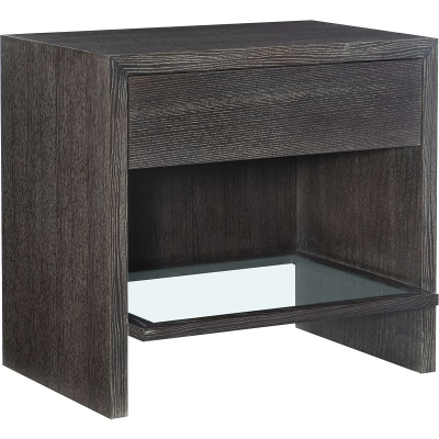 Hickory Chair David Side Table Nightstand