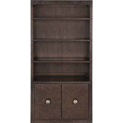 Hickory Chair Sharon Bookcase Grades 40 70 Fabric or Ash Wood Doors
