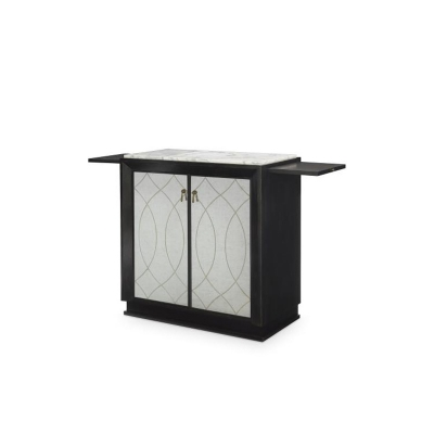Candice Olson Lavaliere Mirrored Chest