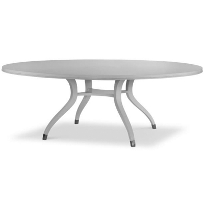 "Highland House Simon 84"" Round Dining Table"