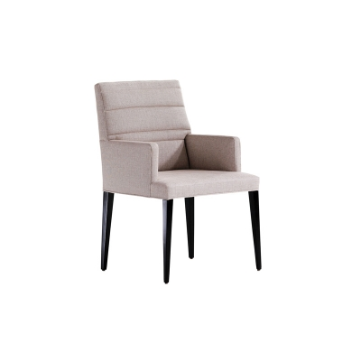 Jessica Charles Quilted Arm Dining Chair