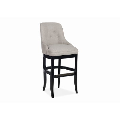 Jessica Charles Tufted Memory Swivel Bar Stool