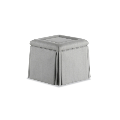 Jessica Charles Rolled Top Ottoman