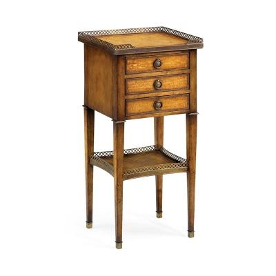 Jonathan Charles Three Drawer Lamp Table
