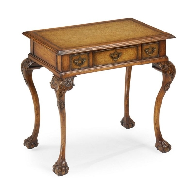 Jonathan Charles Queen Anne Style Side Table