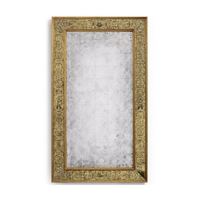 Jonathan Charles Gold Eglomise Mirror