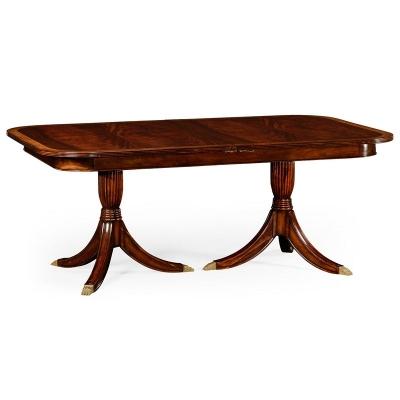 Jonathan Charles Regency Single Leaf Extending Dining Table