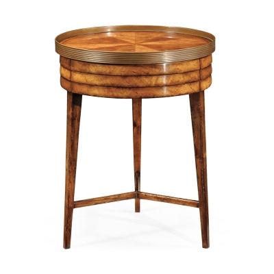 Jonathan Charles Drum Side Table