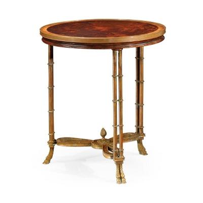 Jonathan Charles Napoleon III Side Table Large