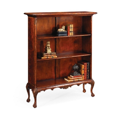 Jonathan Charles Mahogany Low Bookcase Without Chest