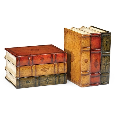 Jonathan Charles Faux Book Bookends
