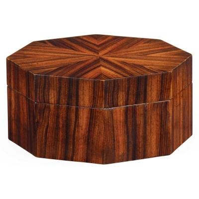 Jonathan Charles Art Deco Style Octagonal Box