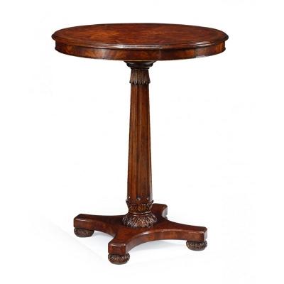 Jonathan Charles William IV Mahogany Bar Table