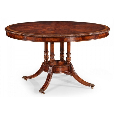 Jonathan Charles inch Birdcage inch Mahogany Centre Table