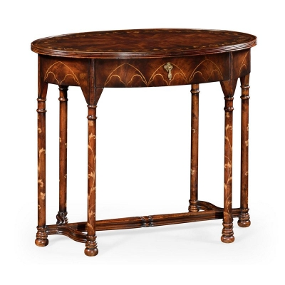 Jonathan Charles inch Gothic inch Mahogany Side Table