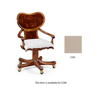 Jonathan Charles George I Style Adjustable Desk Chair COM