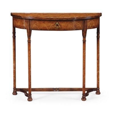 Jonathan Charles inch Gothic inch Burl Console