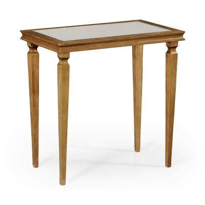 Jonathan Charles Italian Gilded Rectangular Side Table