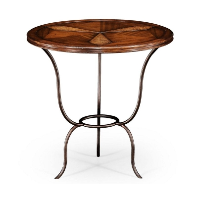 Jonathan Charles Walnut Bistro Table