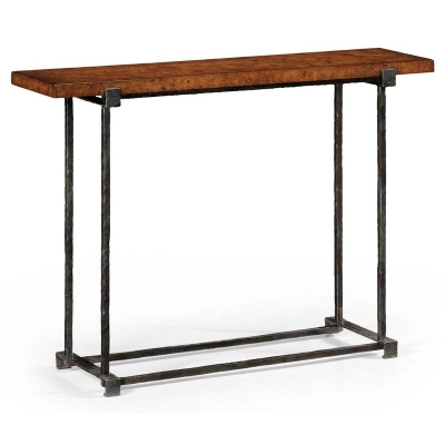 Jonathan Charles Wrought Iron Console
