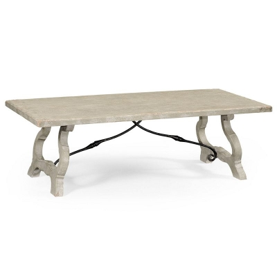 Jonathan Charles Spanish Style Grey Coffee Table