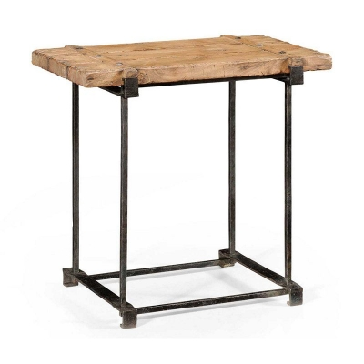 Jonathan Charles Plank Top inch Utility inch Side Table