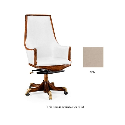 Jonathan Charles High Backed Desk Chair In COM