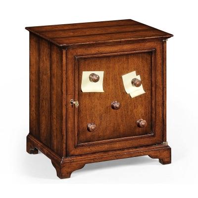 Jonathan Charles Desktop Letter Cabinet Walnut