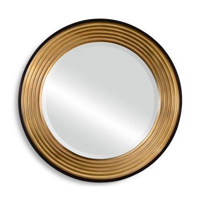 Jonathan Charles Contemporary Circular Recessed Mirror