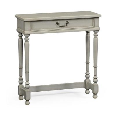 Jonathan Charles Grey Painted Rectangular Side Table