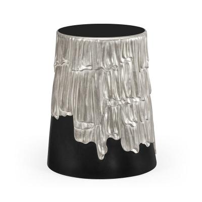Jonathan Charles Silver Lamp Table