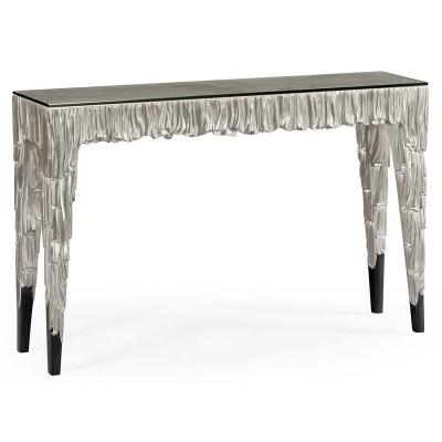 Jonathan Charles Silver Console