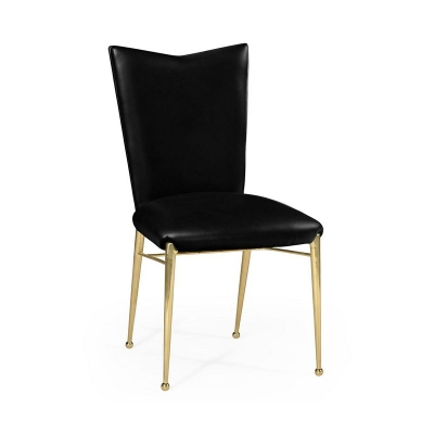 Jonathan Charles ArtDecor Gilded Side Chair