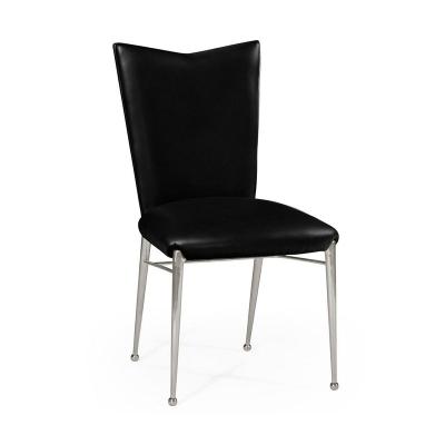 Jonathan Charles ArtDecor Silver Side Chair