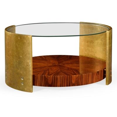 Jonathan Charles Oval Cocktail Table